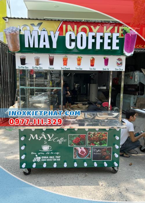 Đặc điểm của xe cafe mang đi ở Inox Kiệt Phát