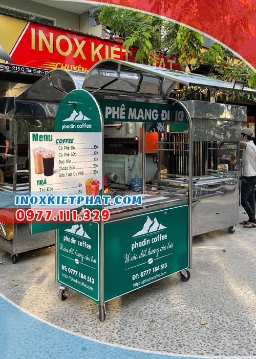 kinh doanh xe cafe take away