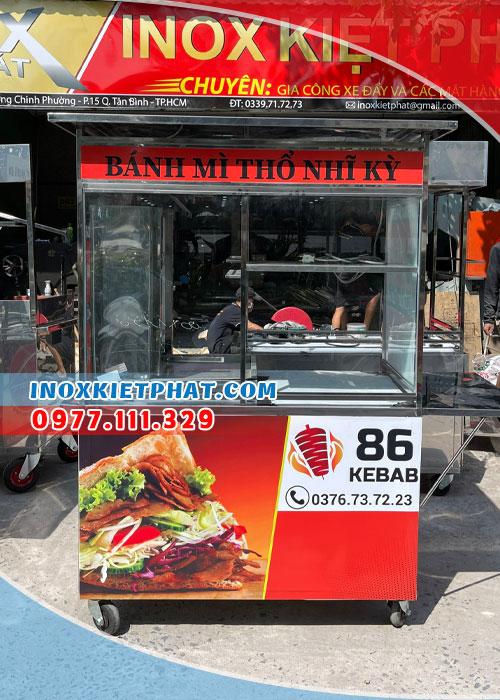 Mở quán kinh doanh bánh mì Doner kebab