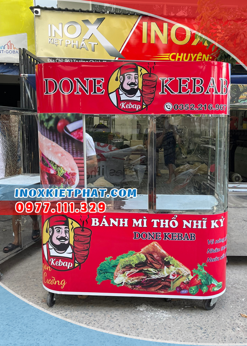 Kinh doanh xe bán bánh mì Doner Kebab và lợi nhuận thu về