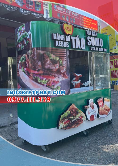 Chuẩn bị xe bánh mì kebab chất lượng