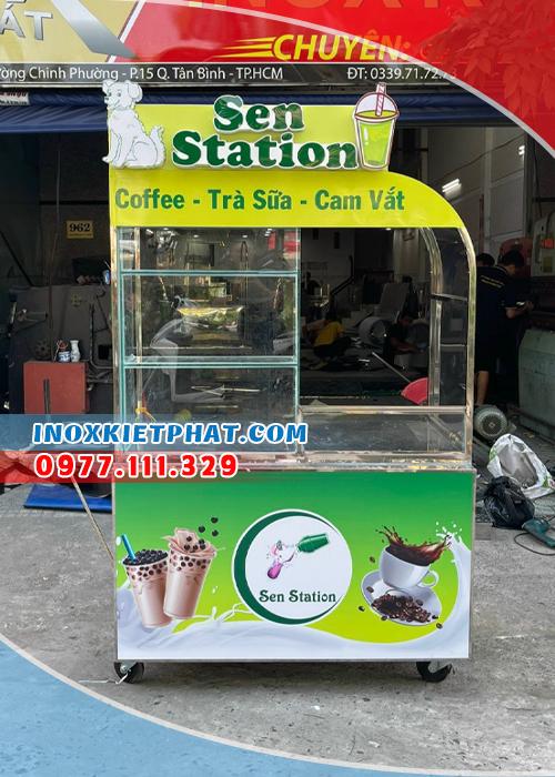 Lựa chọn xe bán trà sữa chất lượng